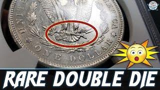 RARE Double Die Morgan Silver Dollar Found!
