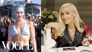 Gwen Stefani Breaks Down 6 Looks From 1995 to Now | Life in Looks | Vogue