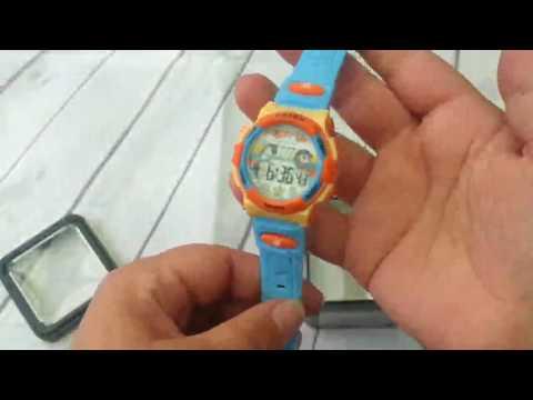 ZEIGER Kinderuhr Digital Sportuhr Datum Alarm Chronograph Armbanduhr Jungen Uhr KW061