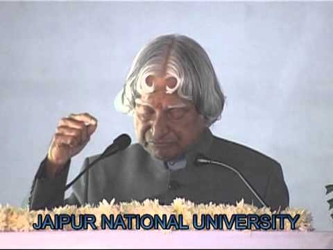 A.P.J. Abdul Kalam @ Jaipur National University