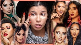 FULL FACE OF BEAUTY GURU MAKEUP | HIT OR MISS?