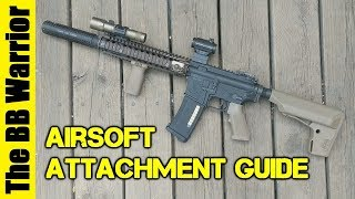 Airsoft Gun Attachments Guide | Which Are The Best?
