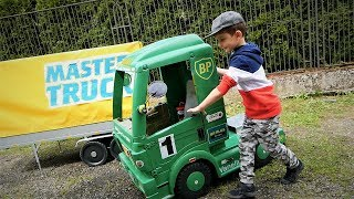 Master Truck 2019 Electric Mercedes Truck for Kids- carwash