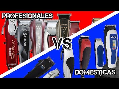 Diferencias Entre Una Máquina de Cortar Cabello Profesional y Una de Uso Doméstico