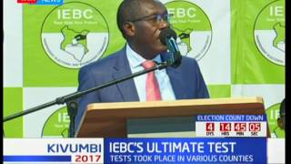 IEBC gives assurance that they are ready for the August elections