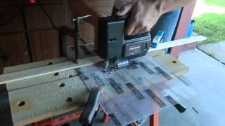 Cutting Lexan with a jigsaw