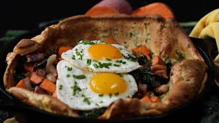 How To Make A Savory Dutch Baby • Tasty