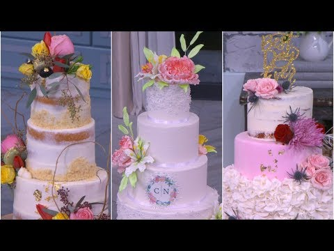 cat cora s wedding cake contest and the winner is pickler and ben