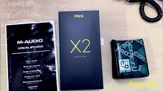 POCO X2 Unboxing & Real Feel & Look - Good Specs Aggressive Price - GIVEAWAY🔥🔥🔥