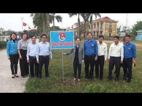Tại xã Vũ Vinh, Huyện đoàn Vũ Thư khởi động tháng thanh niên năm 2020