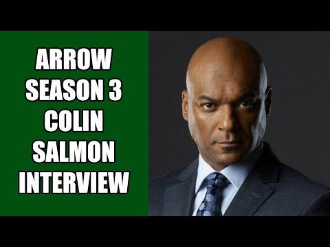 Arrow Walter Steele Interview - Colin Salmon | MTW