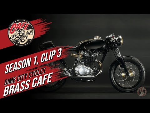 Velocity's Cafe Racer TV Season 1, Clip 3 of Dime City Cycles and The Brass Cafe