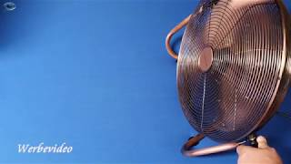 Produkttest Brandson 684634684 Windmaschine Retro Stil 120 Watt-Ventilator