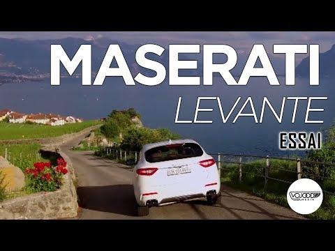 Essai Maserati Levante