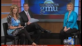 Video6: Talking about the cure for shopping too much on Good Morning Utah.