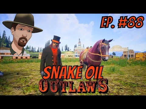 SNAKE OIL Update 1.2.5 OUTLAWS of the Old West