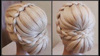 Прически.Обучение Прическам.Красивая текстурная прическа.Course on hairstyles.Beautiful hairstyles.