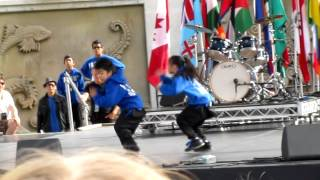 9-year-old Lucky & Aces hip-hop dance performance @ Surrey Fusion Festival