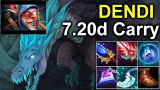 DENDI Winter Wyvern Carry Build 7.20d - Midlane to Counter Meepo