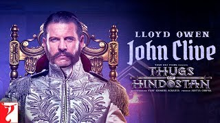 Thugs of Hindostan - John Clive Motion Poster