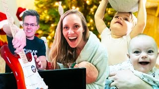 EXCITING CHRISTMAS MORNING! - Ellie and Jared Christmas