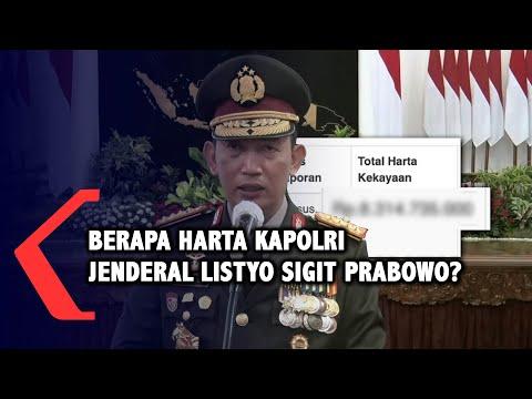 Berapa Harta Kapolri Jenderal Listyo Sigit Prabowo?