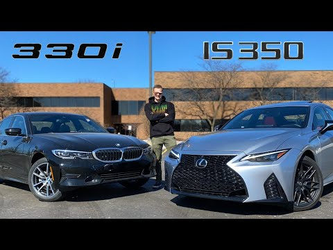 2021 BMW 330i vs Lexus IS350 F Sport - Which Makes the Better Base?