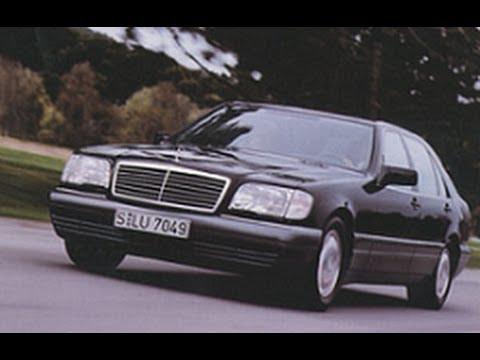 тест-драйв Mercedes-Benz W140 s600 онлайн видео
