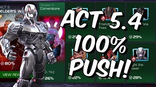 Act 5 Chapter 4 100% Push - Stream #4 - Marvel Contest Of Champions - Marvel Contest Of Champions