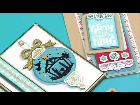 Christmas Blessings Collection by Katelyn Lizardi | Sizzix