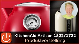 Produktvorstellung KitchenAid Wasserkocher 5KEK1522 vs. 5KEK1722 - Thomas Electronic Online Shop