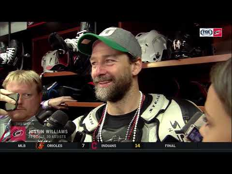 Justin Williams on Carolina Hurricanes' relationship with fans as season ends in East Final