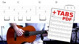 Tombé   M. Pokora (tuto Guitare)