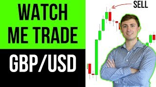 LIVE Forex Trading GBP/USD: Watch the Trade Start to Finish! 💰📉