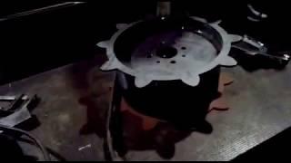 Изготовление приводных звездочек на вездеход Кайтас