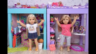American Girl Doll Bed And Bedding Sets ~ Loft Bed, Trundle Bed, Bunk Bed And Bouquet Bed NEW!