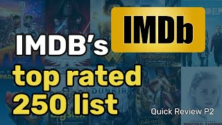 IMDB Top Rated Movies Operation Part 2 | 250 movies Quickly Reviewed | Good or Bad by LogicalAyzee