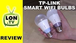 TP-Link Multicolor and White (tunable) Smart Wi-Fi Bulb Review - Alexa Enabled, No Hub Required