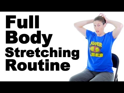 Real Time Full Body Stretching Routine - Ask Doctor Jo