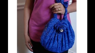 DIY : How To Make No Sew Make Up Bag - Request Video