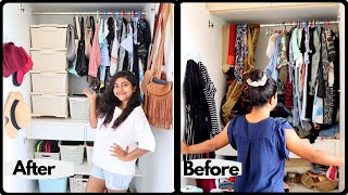 INDIAN SMALL CLOSET ORGANIZATION 2019 | CREATE AN ELEGANT LOOKING CLOSET ON BUDGET