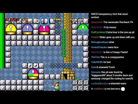 Super Mario World Hacks (1/4) - смотреть онлайн на Hah Life