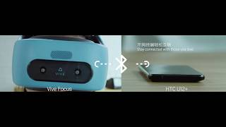 Vive Focus Smartphone Integration Features