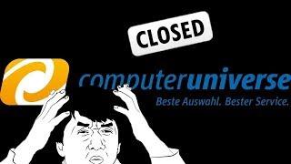 Computeruniverse - закрыли ?