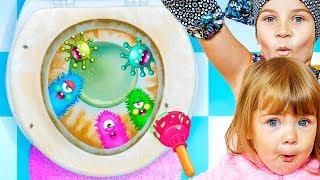 СМЕШНОЕ ВИДЕО ДЛЯ ДЕТЕЙ Новый игровой мультик МИЛАЯ МАЛЫШКА детская игра TutoTOONS