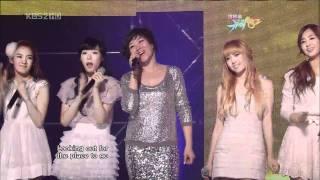SNSD & Ju Hyun Mi ♥ Crush + Dancing Queen live HD