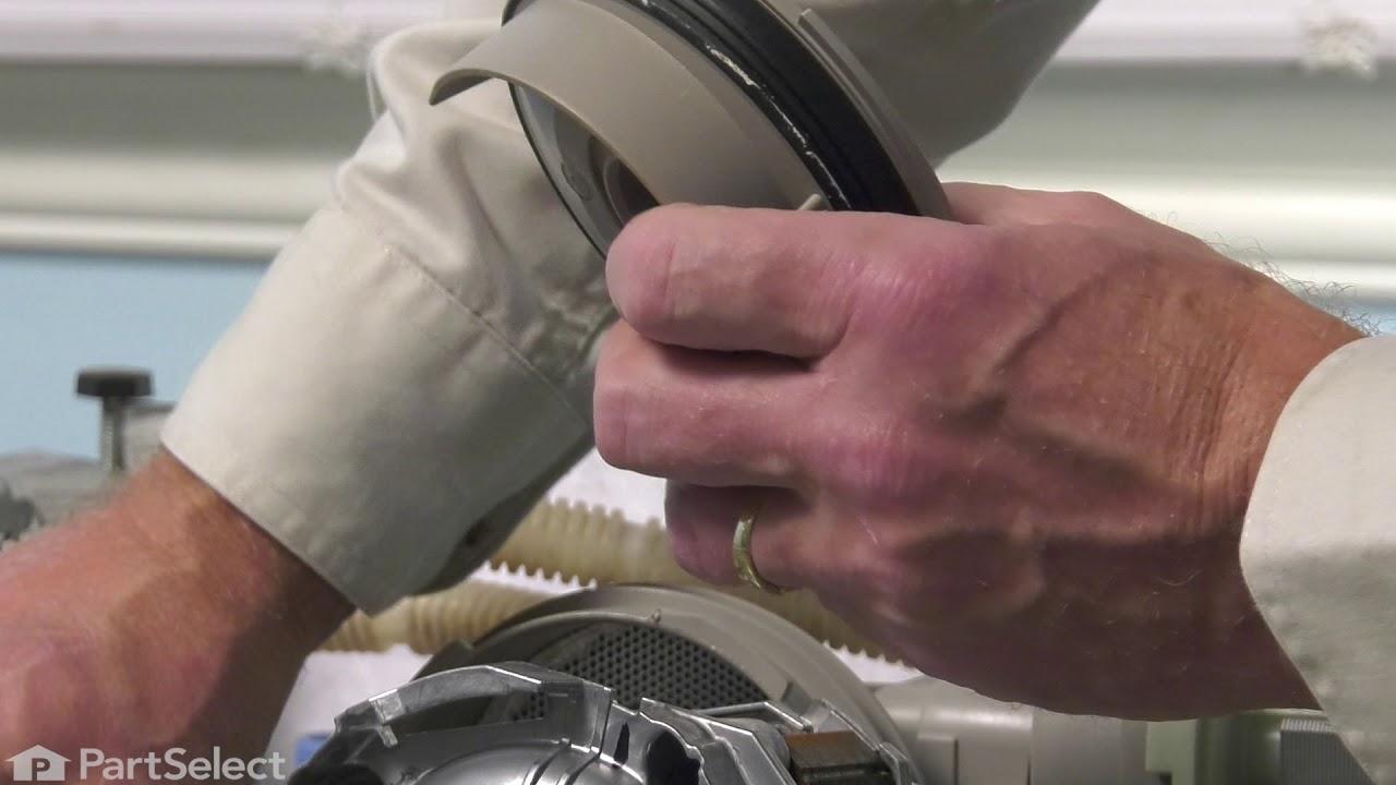 Replacing your KitchenAid Dishwasher Impeller and Seal Kit.