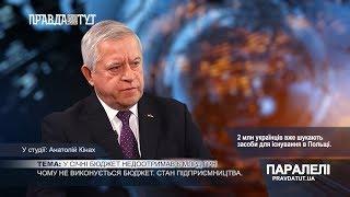 «Паралелі» Андрій Кінах: Чому не виконується бюджет