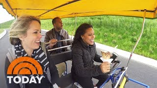 TODAY goes to Governors Island in New York: See their adventure! | TODAY