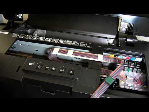 Epson 1500w Ciss continuous ink sytem